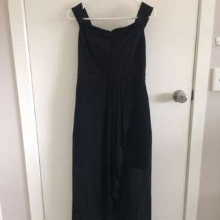 Black formal dress