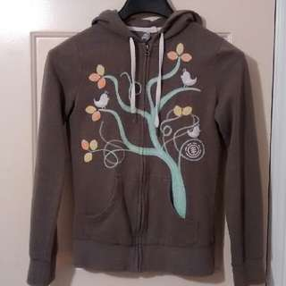 Birds In Tree Element Hoodie