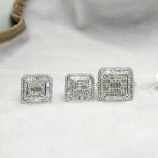 HOT SALE!!! SALE!! SALE!! 14K WHITE GOLD HONGKONG DIAMOND SET 3carats
