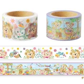 Last PIece Japan Tokyo Disney Resort Disneyland Disneysea Duffy Shelliemay Gelatoni Easter 2015 Masking Tape