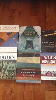First Year Justice Studies Textbooks