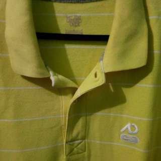 NIKE AUTHENTIC YELLOW POLO SHIRT
