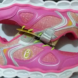 Barbie Rubber Shoes With Lights