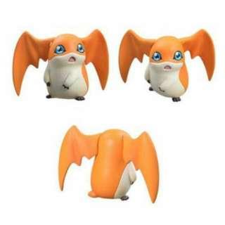 徵收 數碼寶貝 巴達獸 神奇寶貝 公仔 扭蛋 模型 玩具