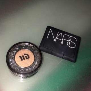 Urban Decay Eyeshadow AND Nars Blush