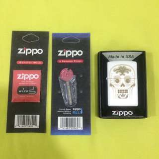 Zippo Sugar Skull