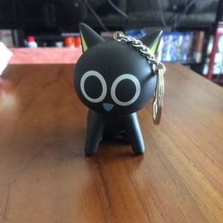 黑貓鑰匙圈