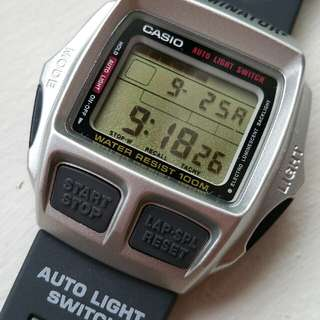 CASIO CBX-102 Caliber 1464 New old stock Casio Made in Japan