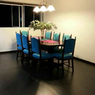 12 Seater Rosewood Dinning Table
