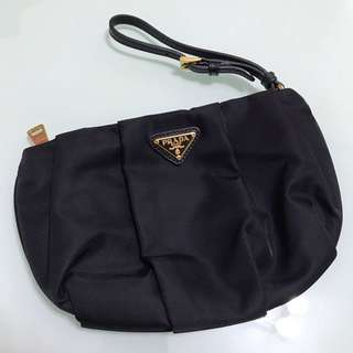 (Authentic) PRADA Vela Necessaire clutch bag