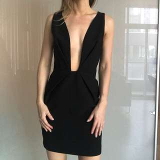 Finders Keepers The Label Black Plunge Mini