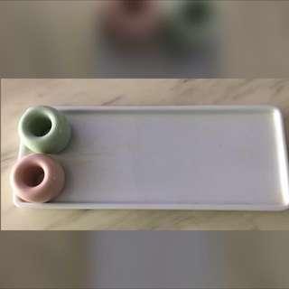 MUJI Toothbrush/ toothpaste holder (Preloved)