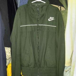 Nike Women's Olive Green Light Jacket
