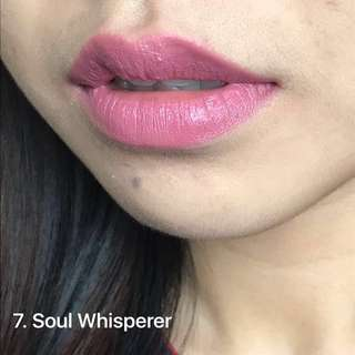 Mauve pink lipstick (Vegan, natural & cruelty-free)
