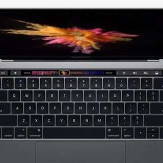 MacBook Pro 13 With Touch bar