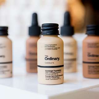 The Ordinary Colours Coverage Foundation With SPF15