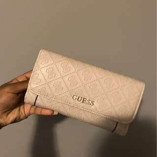 Pink / Nude Guess Wallet
