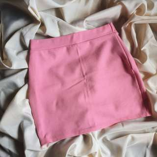 Blush Pink Bondage Skirt
