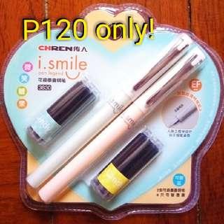 Chren Fountain Pens (With 6 Refills)