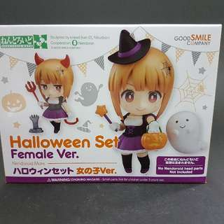 * Only 2 Available * Brand New SEALED Nendoroid MORE : Halloween Set Female Ver