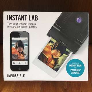 Instant Lab Impossible Project