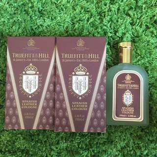 Truefitt & Hill Spanish Leather Wood Cologne (10% OFF)