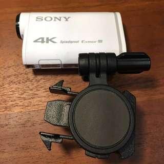 [保固到今年]SONY x1000vr運動攝影機 原廠全配 贈專用知名三軸穩定器、64GB IU3記憶卡(4K專用)