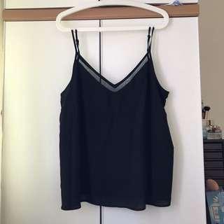 夏季新款 OL上班族必備吊帶上衫