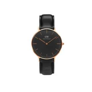 Daniel Wellington Classic Black Sheffield 36mm RG + 1 free strape