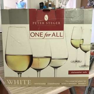 Peter Steger 白酒 / 香檳 杯 一套6隻