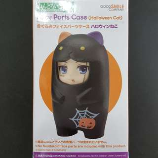 Brand New SEALED Nendoroid Face Parts Case Halloween Cat
