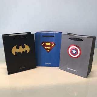 Super heroes/Avengers - Party/Goodie Bags