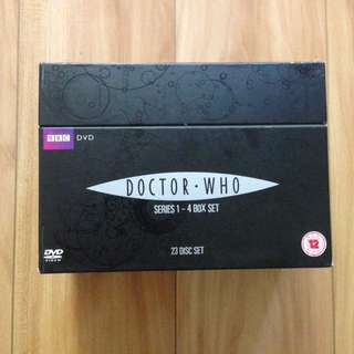 DOCTOR WHO: Complete Series 1-4 DVD Box Set (23 Discs) David Tenant