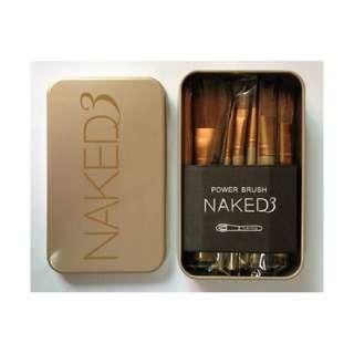 (Instock) Naked 3 12pcs Brush Set