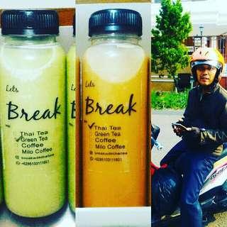 Thai Tea/Green Tea