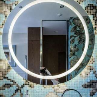 NEW IN BOX - LARGE OR MEDIUM - JUST LAUNCHED - WALL ILLUMINATED LED MIRRORS