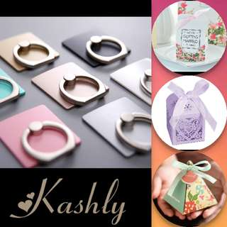 Wholesale Customized Wedding Favour Phone Ring Bracket Ring Hook