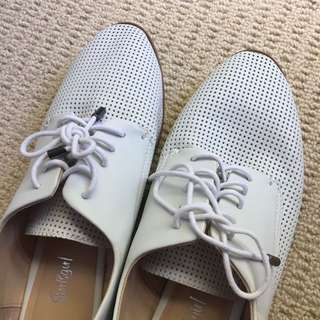 White Sportsgirl Shoes