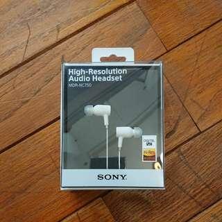 Sony 原廠高解析數位耳機