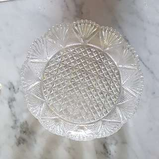 gorgeous vintage glass dish