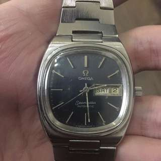 Vintage Authentic Omega Seamaster Automatic Watch