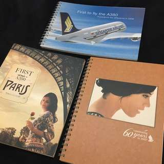 New ~ Rare! Singapore Airlines Notebooks (SIA / SQ)