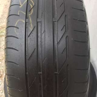 225/50/17 runflat (rft) used tyre