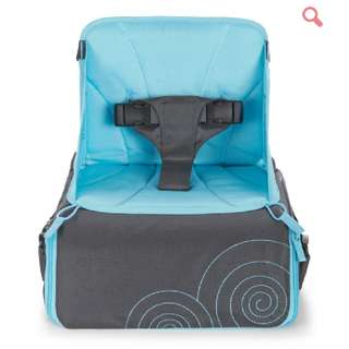 Baby Travel High Chair. Purple In Colour Not Blue.