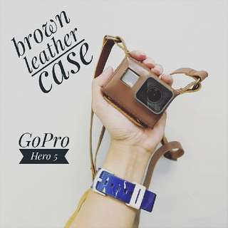 GoPro Hero 5 Leather Case