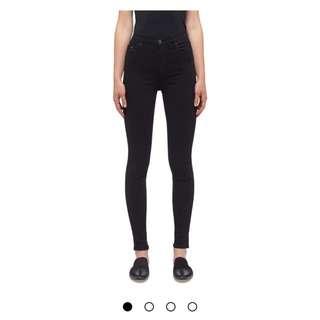 Nobody Siren Skinny jean in black