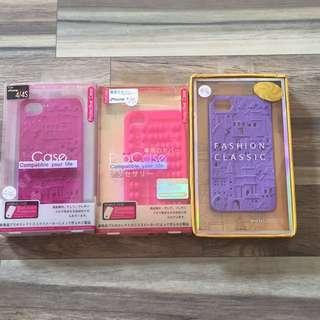 iPhone 4/4S Case (Paket isi 3)