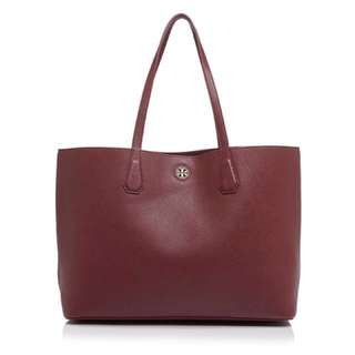 NEW! TORY BURCH PERRY TOTE DEEP BERRY