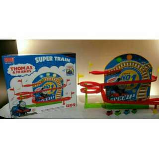 *FREE DELIVERY to WM only / Ready stock* Kids Thomas & friends track toys, 4 cars as shown design/color. Free delivery is applied for this item except for certain furniture type.