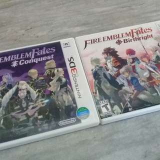 Fire Emblem Fates: Birthright AND Conquest for Nintendo 2DS/3DS